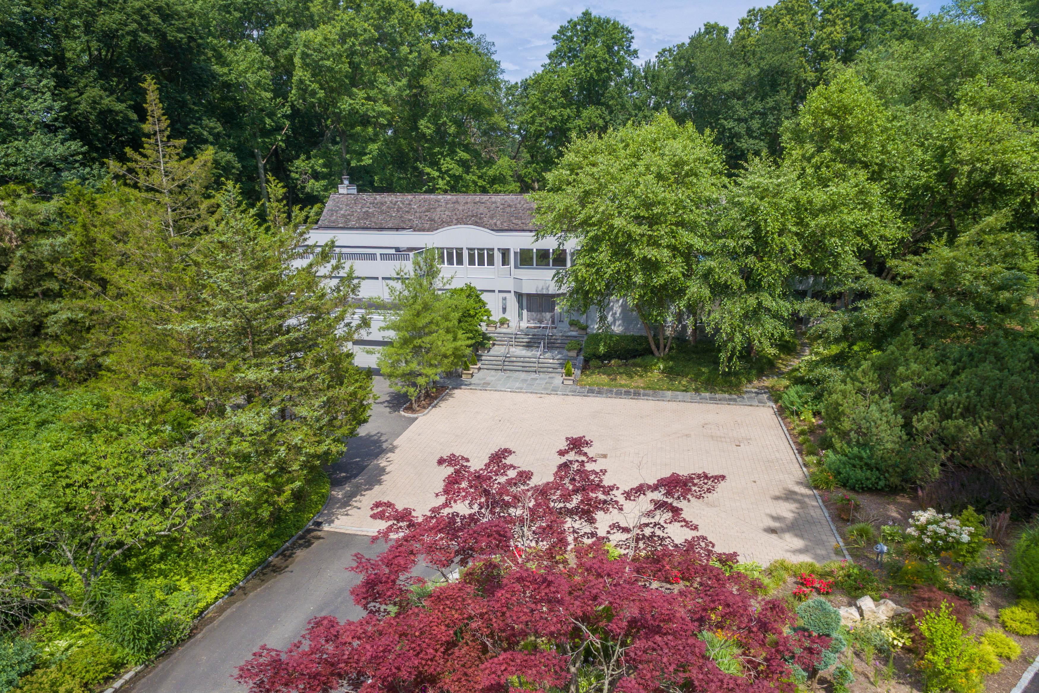 Just Listed!  Extraordinary & Exceptional Contemporary Located In The Heart Of Old Brookville