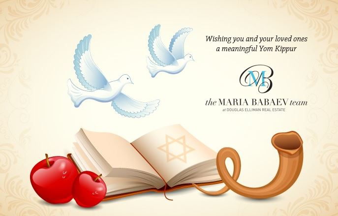Yom Kippur Blessings From The Maria Babaev Team
