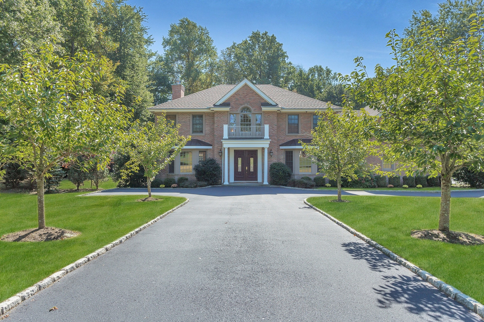 Just Sold!  Majestic Brick Colonial in Old Westbury