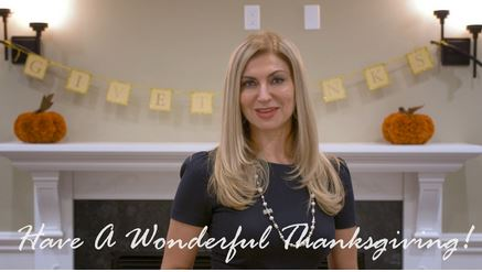 Thanksgiving Wishes From The Maria Babaev Team (VIDEO)