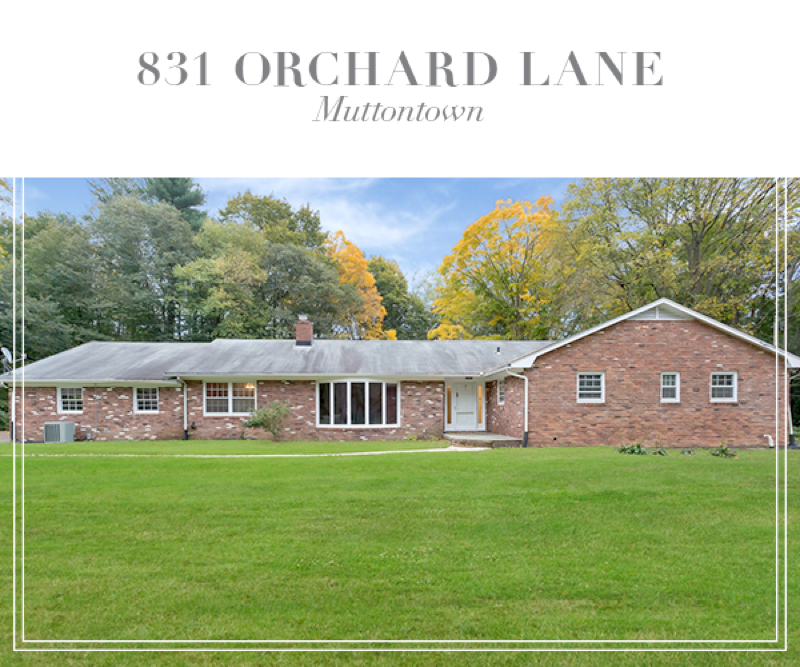 Just Listed!  Pristine Ranch on Cul-de-sac in Muttontown