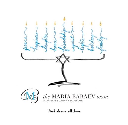 Happy Hanukkah From The Maria Babaev Team