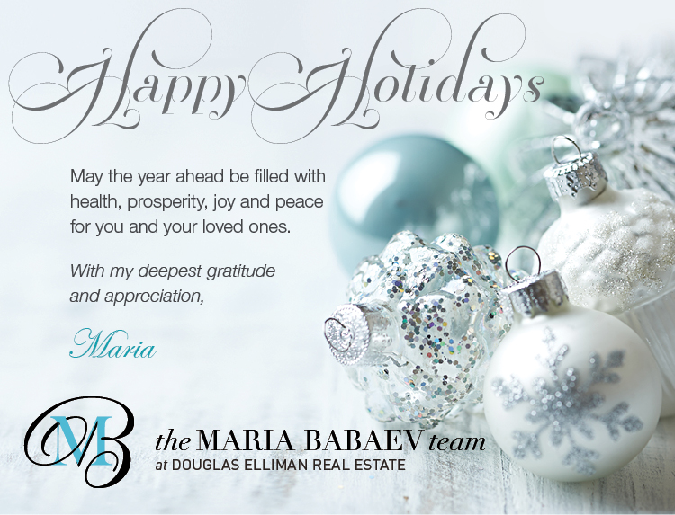 Happy Holidays From The Maria Babaev Team