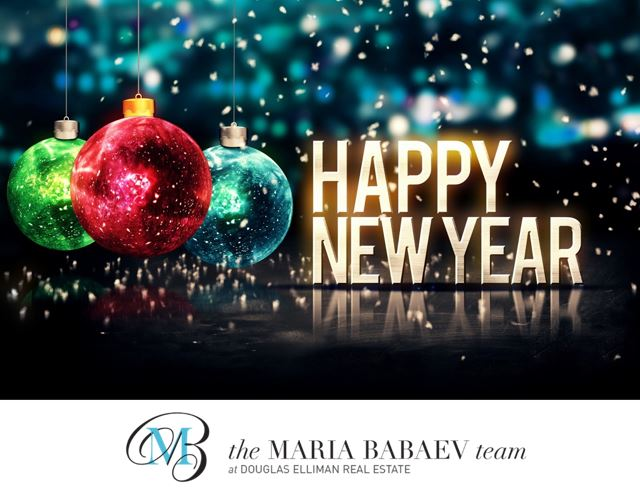 Happy New Year From The Maria Babaev Team