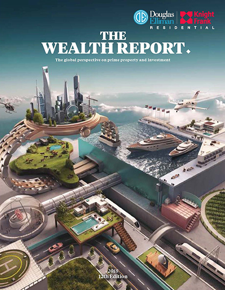 Douglas Elliman and Knight Frank Release The 2018 Wealth Report