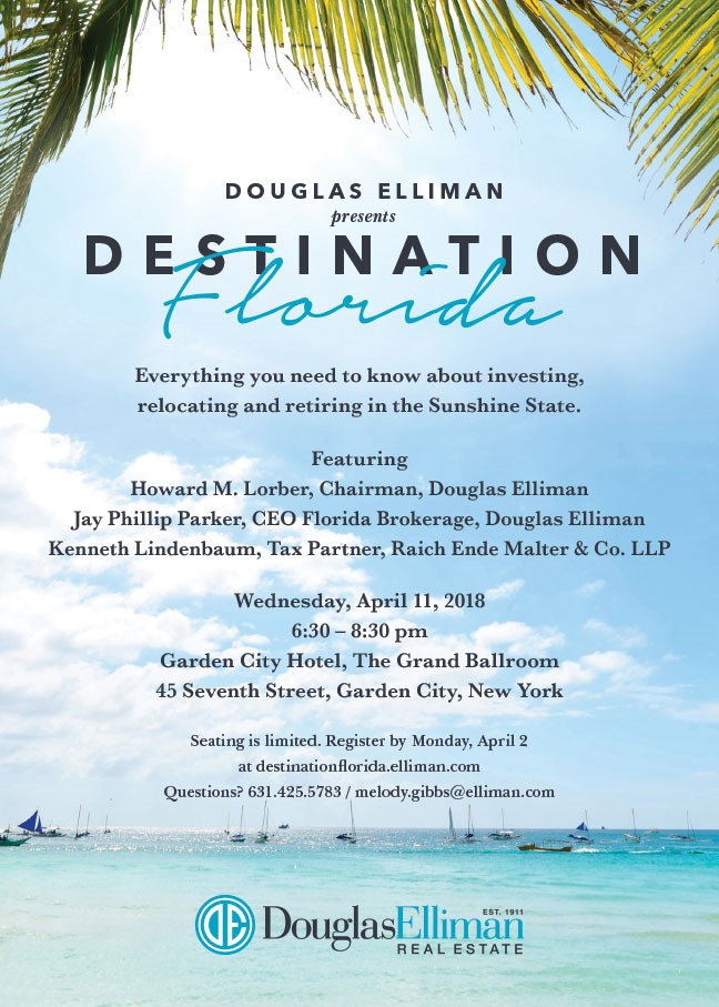 Join The Maria Babaev Team and Douglas Elliman For Destination Florida