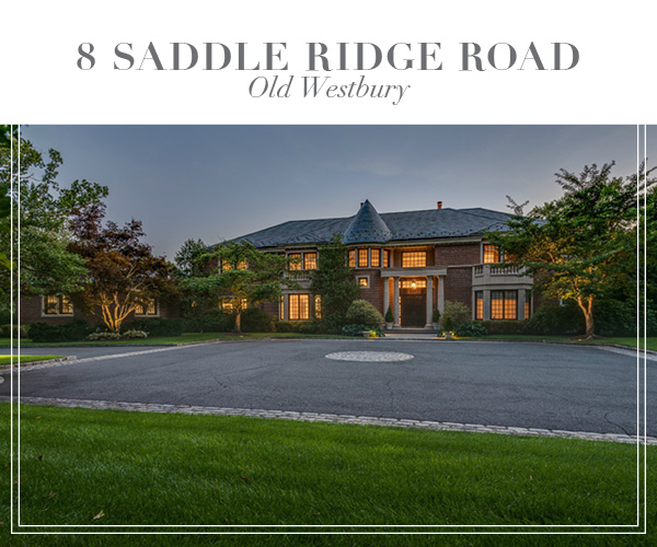 Just Sold for the highest price in Old Westbury in 2019!  Incomparable brick manor in Round Hill at Old Westbury