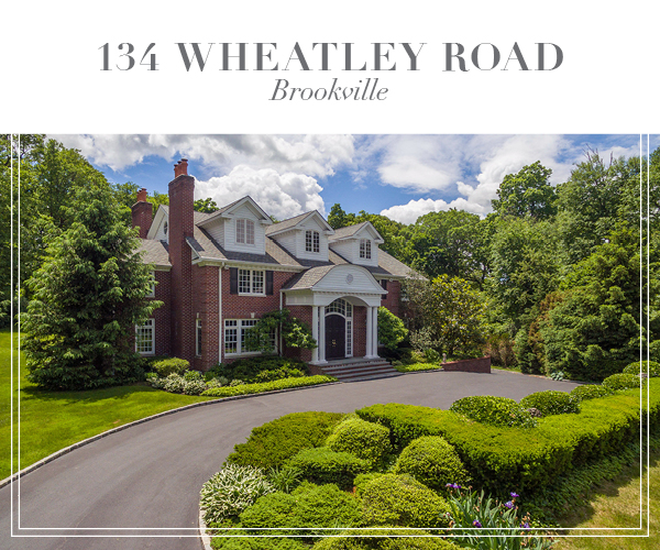 Price Improved!  Magnificent Georgian-style brick Colonial in Brookville