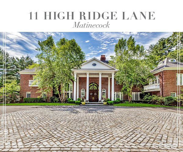 Major Price Improvement!  Exquisite Georgian Manor in Matinecock