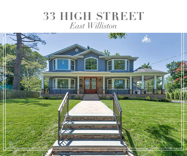Just Listed!  Beautiful Brand-New Construction In The Heart Of East Williston