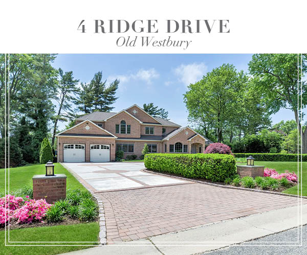 Just Sold!  Exquisite All Brick Split Home In Old Westbury