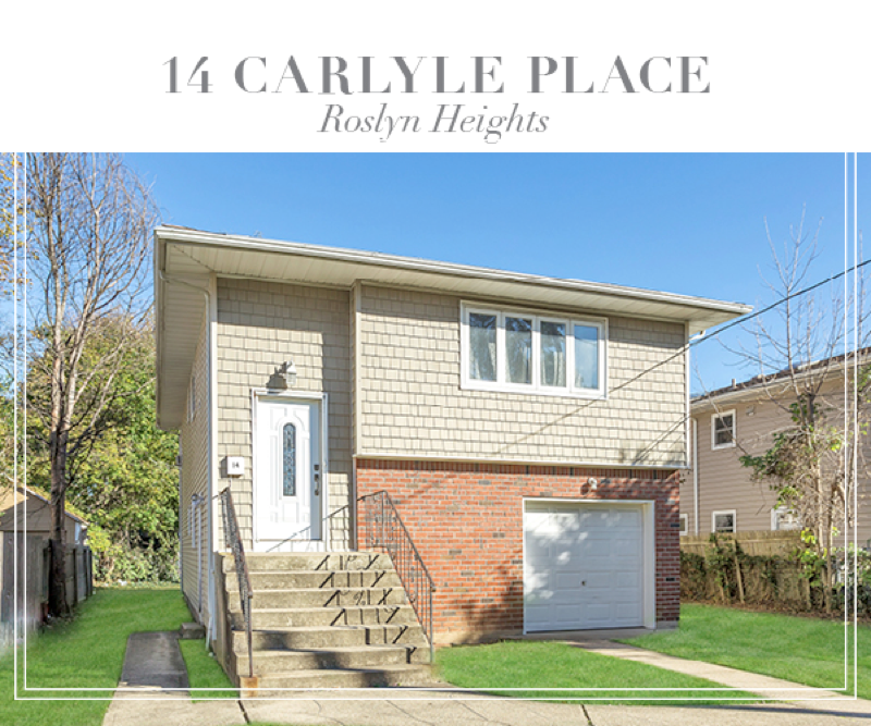 Another sale closed in Roslyn Heights!  Superb Hi Ranch with great living space throughout