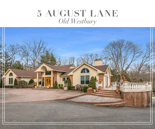 Price Improved!  Unique Brick and Stucco Ranch in the heart of Old Westbury