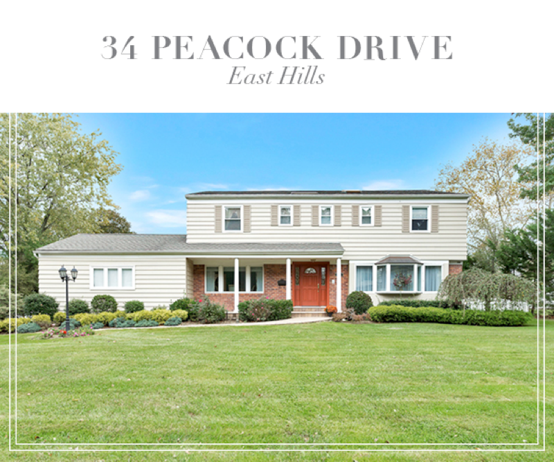 Under Contract!  Sun-drenched Colonial in Lakeville Estates of East Hills