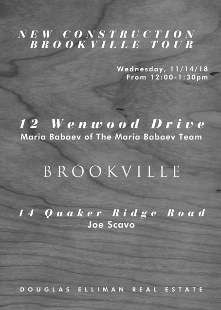 Join The Maria Babaev Team for a Brookville New Construction Tour