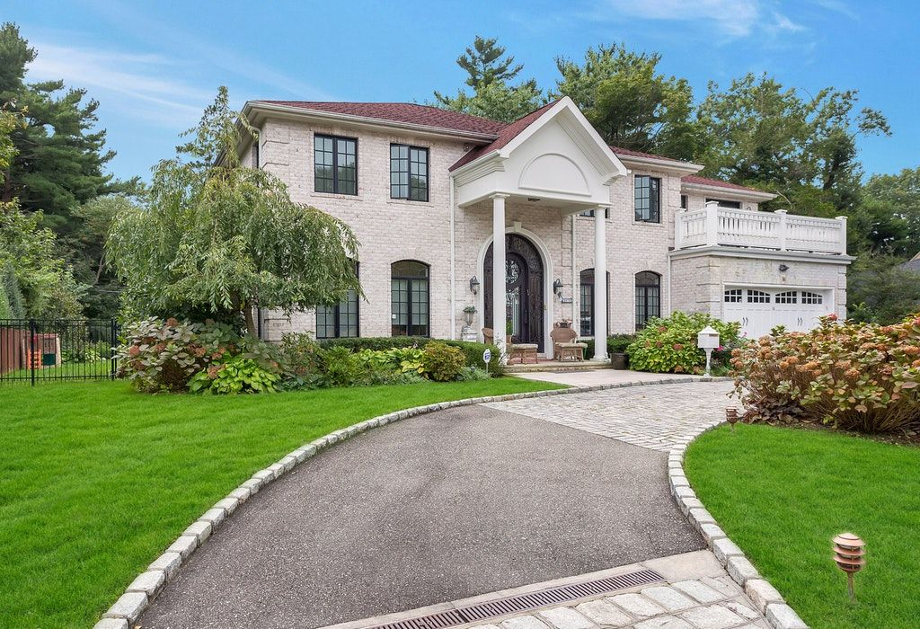 Just Listed!  Brick Center Hall Colonial in the Heart of Roslyn Country Club