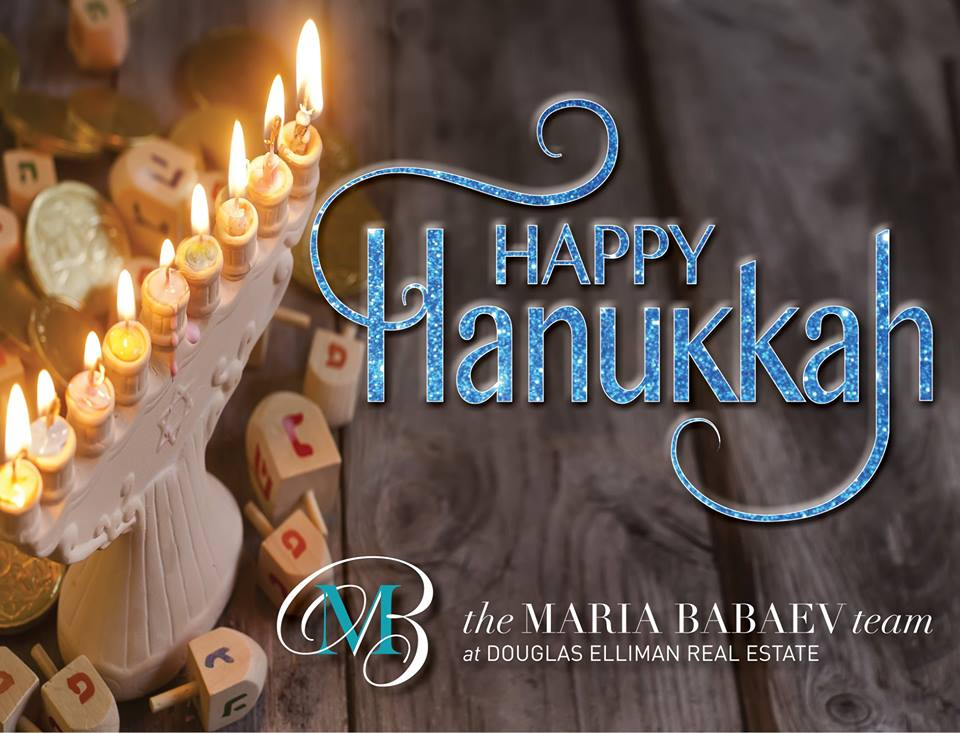 Happy Hanukkah From The Maria Babaev Team!