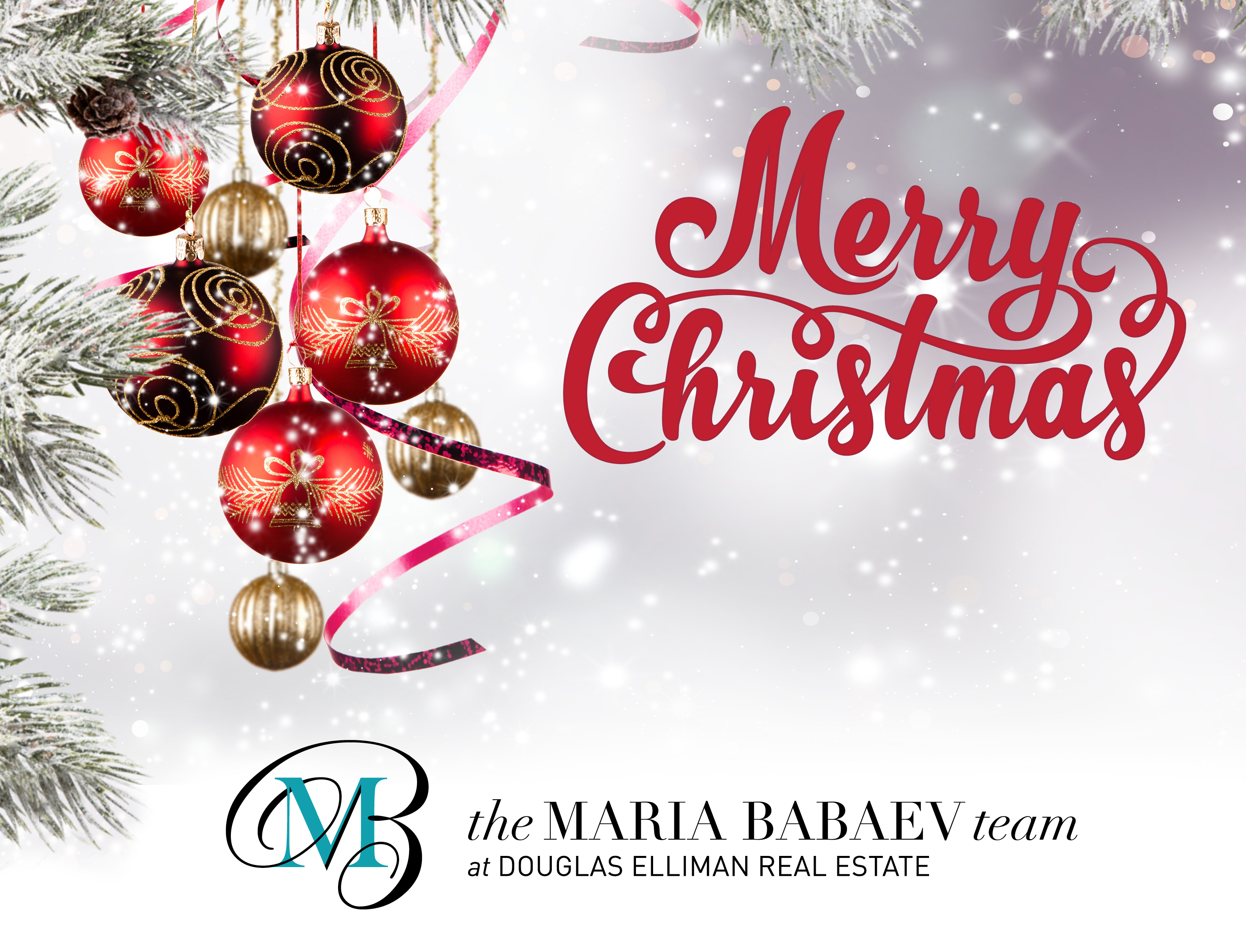 Merry Christmas From The Maria Babaev Team!