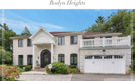 Price Improved!  Spectacular Center Hall Brick Colonial in the Heart of Roslyn Country Club