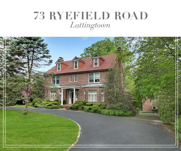 Under Contract!  Stately Brick Country Manor On Over Two Private Acres in Lattingtown