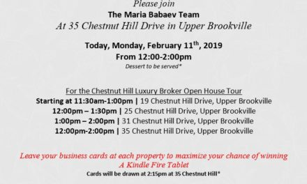 Chestnut Hill Luxury Broker Open House Tour Today – Upper Brookville