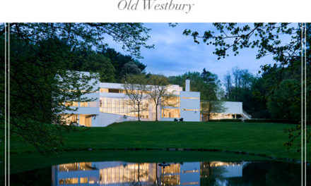 Just Sold!  Architectural Gem in the heart of Old Westbury