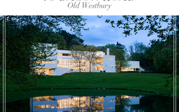 Another Under Contract in Old Westbury!  Contemporary Gold Coast Masterpiece