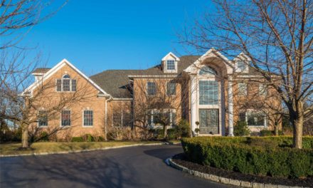 Just Listed!  Superlative All Brick, Like-New, Center Hall Colonial in Old Westbury