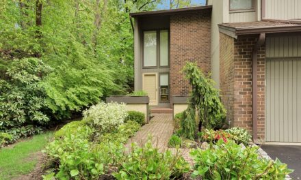 Just Listed!  Sun Drenched Private End Unit in The Hamlet in Jericho