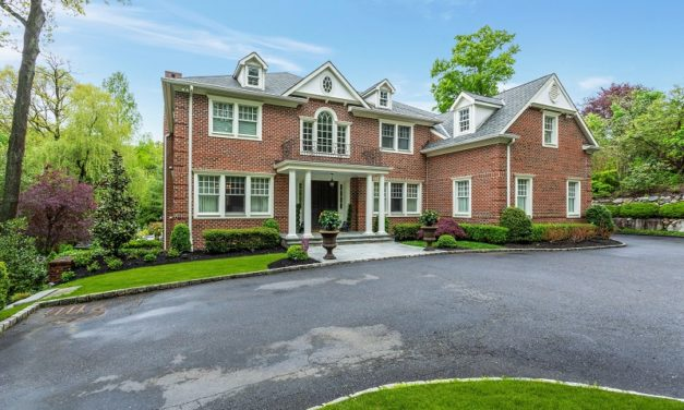 Just Listed!  Spectacular Brick Colonial in Roslyn Harbor