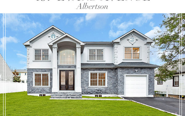 Under Contract!  Stone and Stucco Brand New Construction Colonial In Albertson