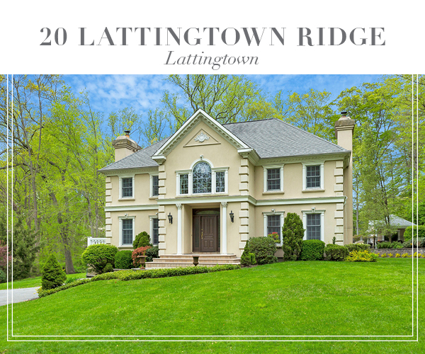 Just Sold!  Stately Young Stucco Colonial on 2 serene acres in Lattingtown