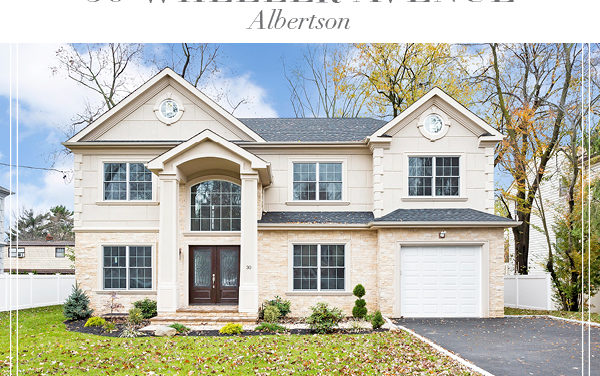 Under Contract!  Sunlit and Spacious New Construction in Albertson