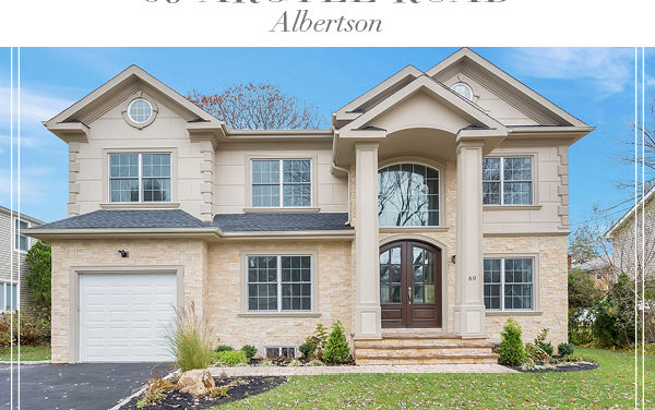 Just Sold!  Open and Spacious New Construction Colonial in Albertson