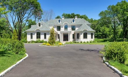 Just Listed!  Majestic New Construction Brick Colonial Set on Over 2 Acres in Old Westbury