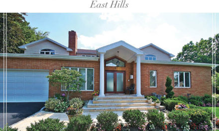 Price Improved!  Magnificent East Hills Home with Open And Spacious Floor Plan