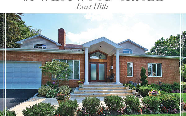 Just Sold!  Magnificent East Hills Home with Open And Spacious Floor Plan