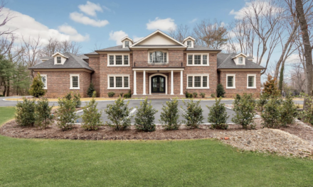 Under Contract! All Brick Colonial New Construction in Sands Point