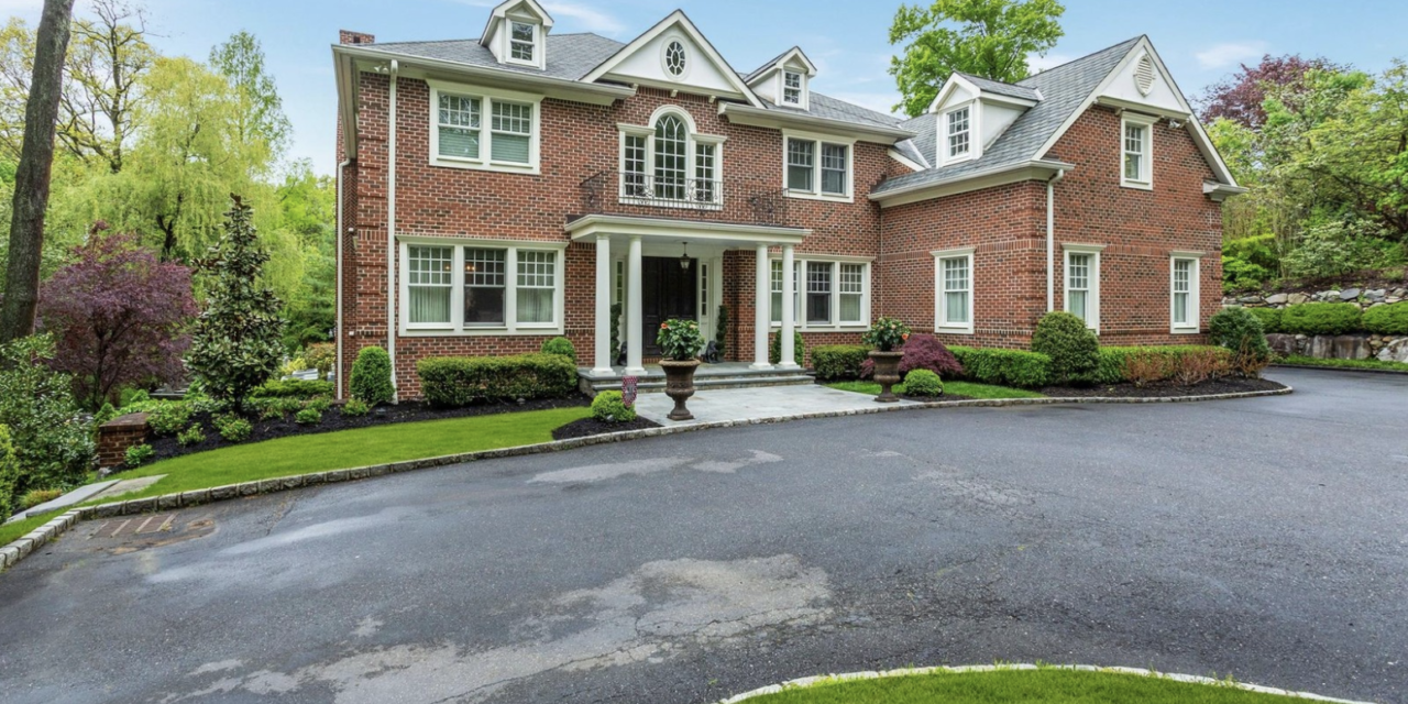 Under Contract! Magnificent Georgian Brick Colonial in Roslyn Harbor