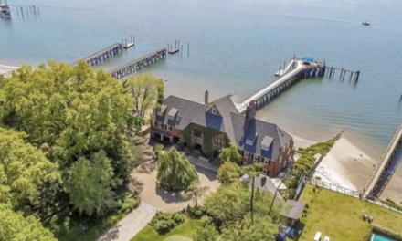The Whitney Boathouse – A Unique Waterfront Estate