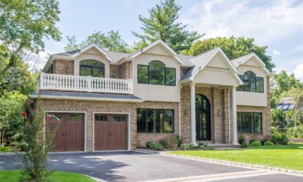 SOLD! Majestic Brick Colonial In Roslyn Country Club