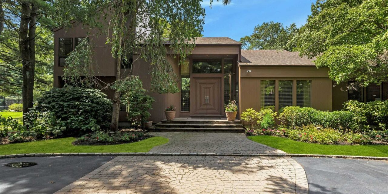 Under Contract! Incredible Contemporary Home in Oyster Bay Cove
