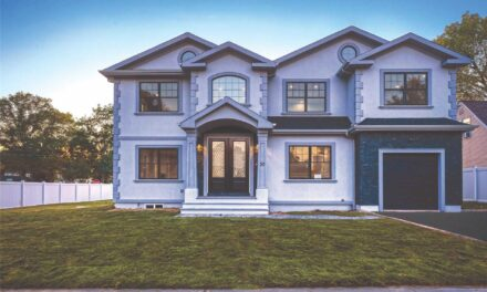SOLD! Charming Stone and Stucco New Construction In Syosset