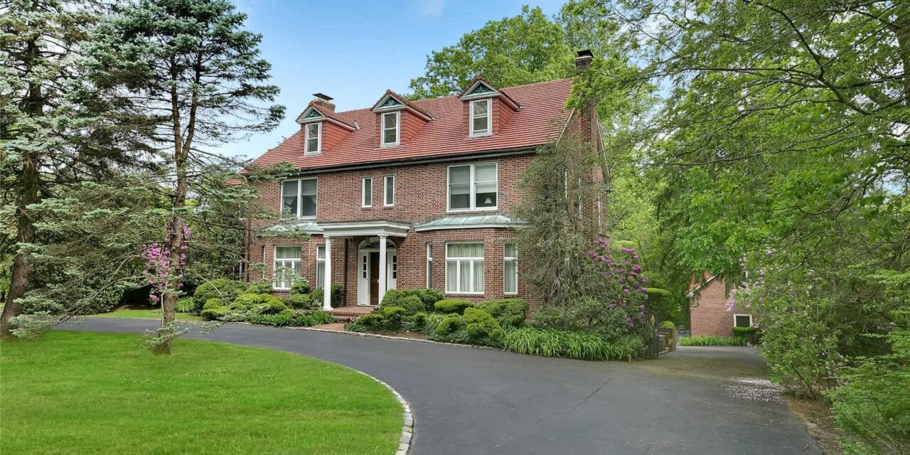 SOLD! Stately Brick Country Manor In Lattingtown