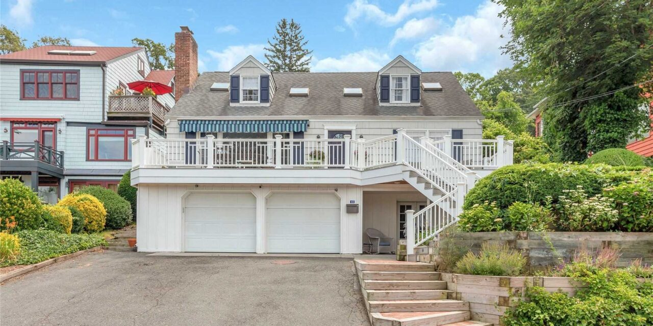 SOLD! Charming, Cozy, & Captivating Cape In The Village of Sea Cliff