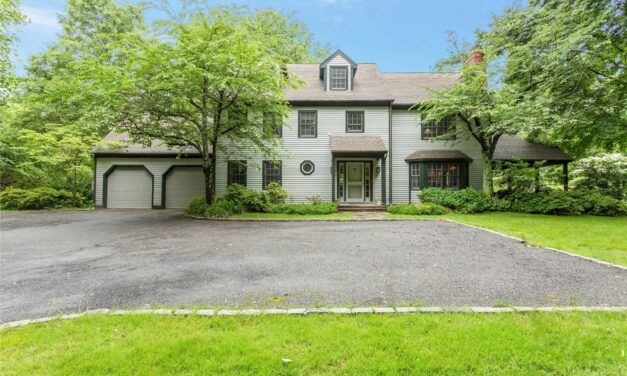 SOLD! Classic Country Colonial on 5 Acres in the Heart of Muttontown